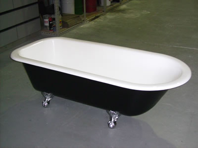 freestanding bath resurfacing example